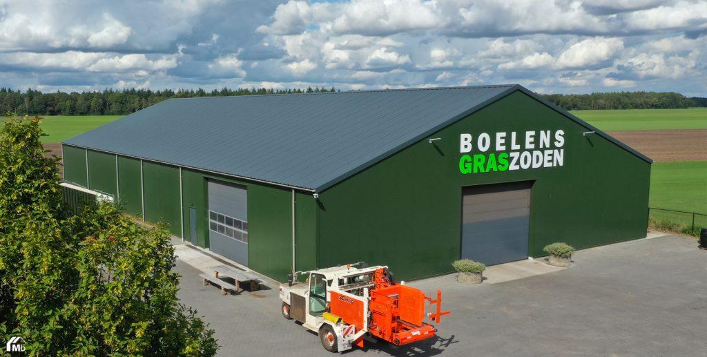 Werktuigenberging in Borger gebouwd door MIEDEMAbouw