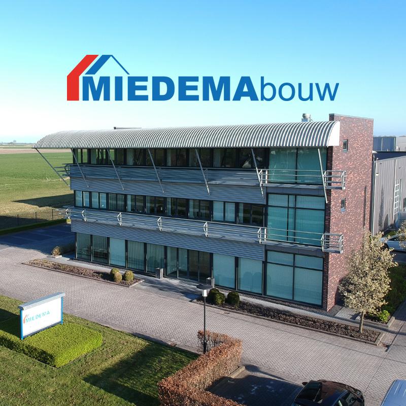 MIEDEMAbouw kantoor Grijpskerk