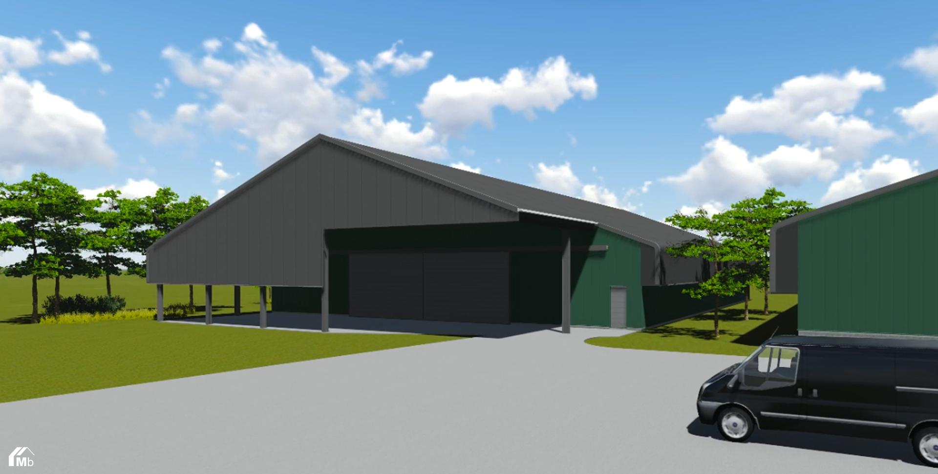 3D ontwerp bewaarplaats MIEDEMAbouw