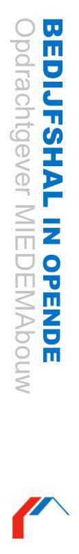 bedrijfshal Opende Miedema bouw